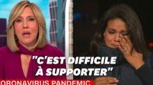 Covid-19: une journaliste de CNN fond en larmes devant l'ampleur de l'épidémie