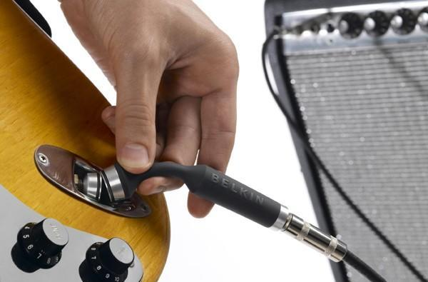 Belkin BreakFree adds magnetic breakaway connector to your guitar cable