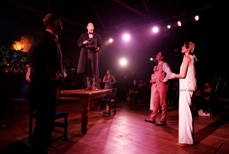 Rousing emotion as 'The Great Gatsby' reopens in London West End
