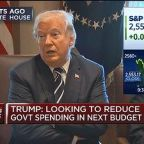 Trump: I feel strongly about the Iran deal
