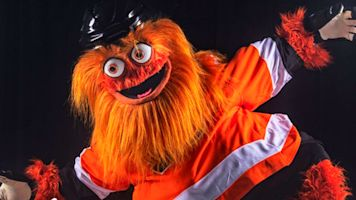 You cannot unsee the Flyers' freaky new mascot
