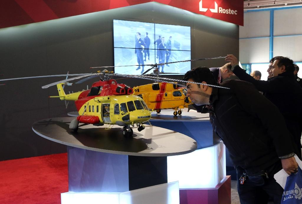 Rostec wants civilian products to account for half of all output by 2025 (AFP Photo/ATTA KENARE)