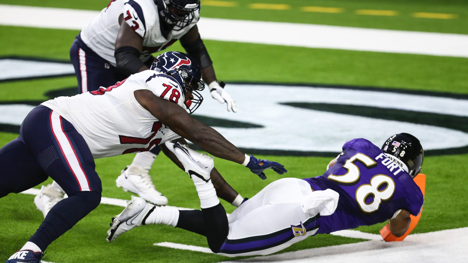 L.J. Fort's scoop and score gave Ravens needed momentum in win vs. Texans