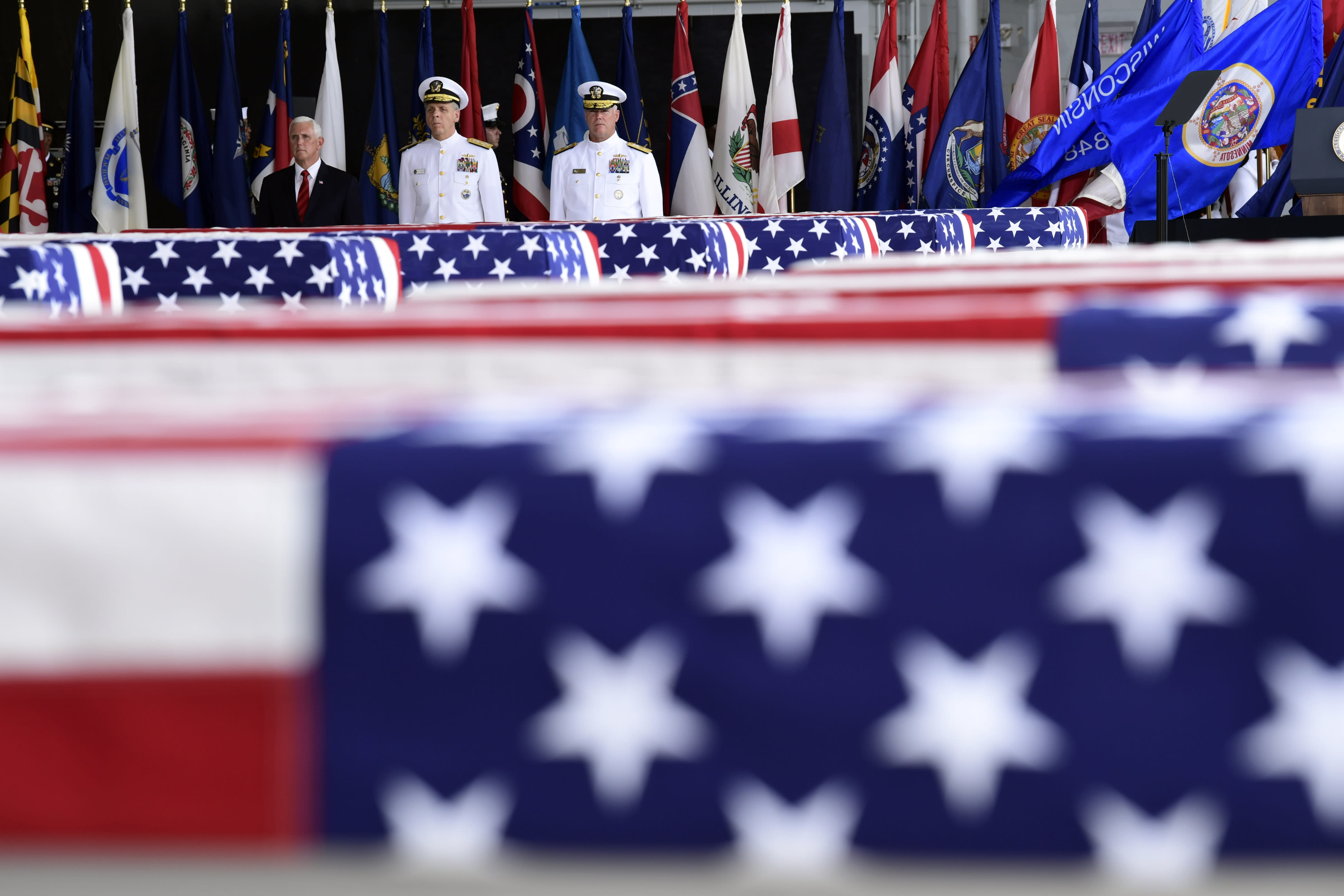 Remains of U.S. soldiers from the Korean War are repatriated