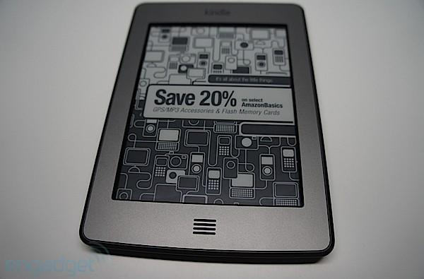Kindle Touch gets new software version 5.0.3