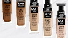 NYX Launches New Full-Coverage Matte Foundation in 45 Shades