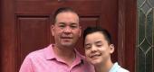 Jon Gosselin and his son Collin. (Instagram)