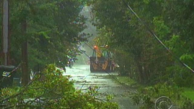 Hurricane Irene leaves path of destruction in NC