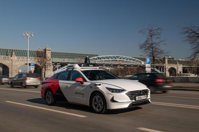 Yandex Hyundai self-driving car