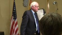Bernie Sanders Abruptly Ends Interview In Middle of Question