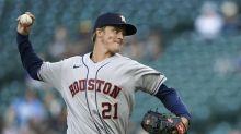 Greinke sharp, Astros end 6-game skid, beat Astros 1-0