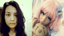 Mulher gasta duas horas por dia para se transformar em boneca japonesa