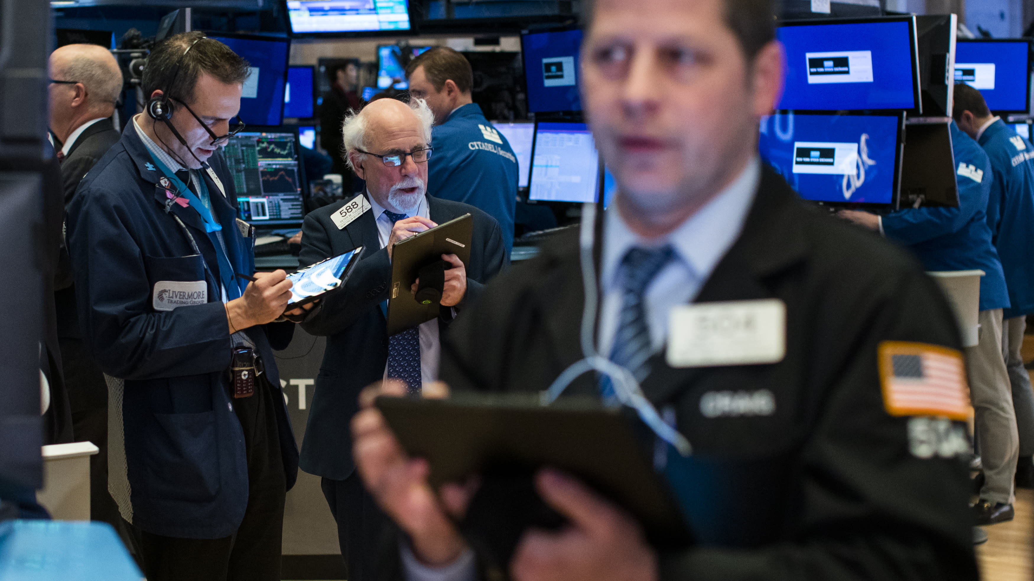 Stock market news live: Stocks sink despite blowout January jobs data