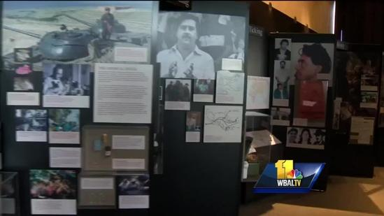Maryland Science Center exhibit explores science of drug use