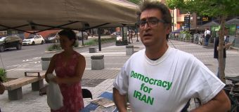 Montealers on hunger strike in support of political prisoners in Iran