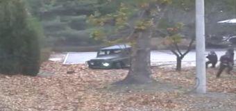 Video shows N. Korean defector's daring escape