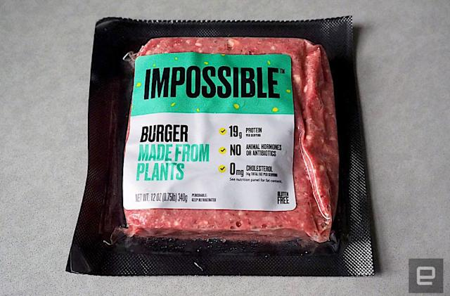 Impossible Burger will soon be available in over 1,000 grocery stores
