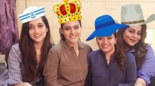 Kajol's hats off fun is too cute for words
