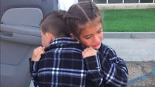 This 9-Year-Old 'Couple' Saying Goodbye Is the Sweetest Thing Ever