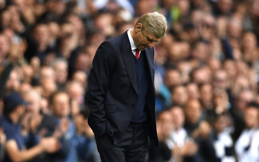 Arsenal manager Arsene Wenger at White Hart Lane - Getty Images Europe