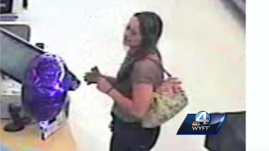 Thief wanted for credit card fraud, caught on camera