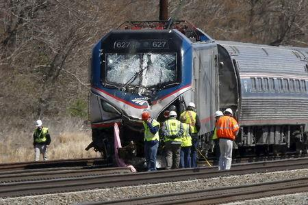 Backhoe in Philadelphia Amtrak accident had right to be on track: report