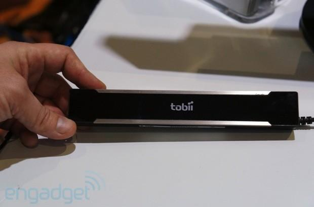 Hands-on with Tobii REX, a peripheral that brings eye-tracking to any Windows 8 PC (video)