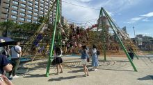 購物中心打造綠地公園 吸引人潮體驗
