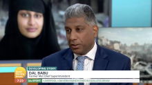 Guest on 'Good Morning Britain' criticises police over Shamima Begum's radicalisation