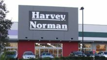 Should you sell the Harvey Norman share price as it hits a 1-year high?
