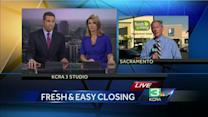 Sale of Fresh & Easy prompts store closures in Sac, Modesto