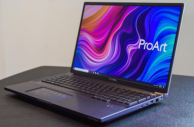 ASUS' StudioBook Pro X is a powerful laptop for creatives