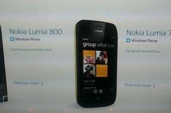 Nokia Lumia 800 and 710 Windows Phones slip out ahead of tomorrow's announcement
