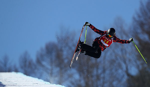 Freestyle-Skiing: Ski-Freestyle-WM: Cakmakli verpasst Halfpipe-Finale klar