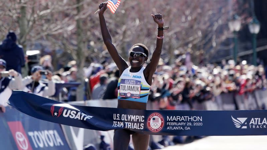 They qualified for Tokyo - then COVID hit. A year later, U.S. marathoners hit their stride