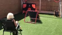 Supergran goes viral with her jaw-dropping football trick shots