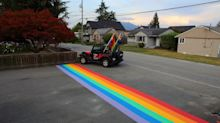 After B.C. City Votes Down Rainbow Crosswalk, Residents Paint 16 Of Them
