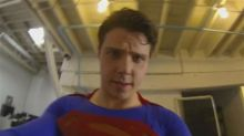 Amazing Superman GoPro video shows him fly and fight crime