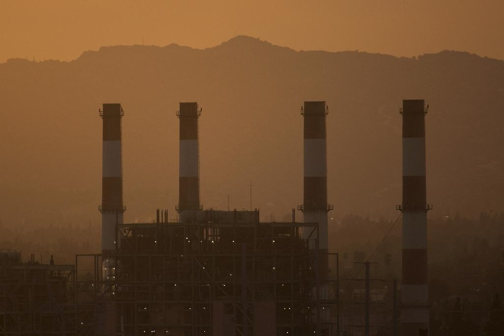 Global temperatures have already risen a full degree Celsius since the mid-19th century (AFP Photo/DAVID MCNEW)
