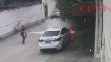 1天內「放火連燒4輛」!少年遭逮稱:不爽看到別人有車
