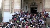 Egypt Descends Into Anarchy; Protesters Barricaded in Mosque