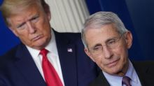 Dr Anthony Fauci warns against rushing out vaccine amid reports Donald Trump could fast-track one before election