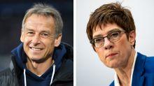 Werbung verhöhnt AKK und Klinsmann