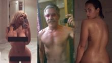 14 Stars Who've Posted Nude Selfies, From Chrissy Teigen to Geraldo (Photos)
