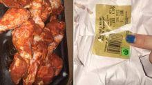'Is this a Halloween joke?': Woman's disturbing find in supermarket Buffalo wings