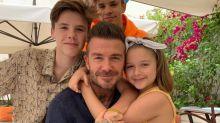 Así ha sido el fin de semana de los Beckham en Sevilla