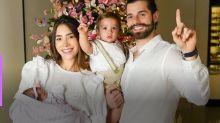 Após semanas de UTI, Alok e Romana Novais comemoram Natal ao lado de Raika
