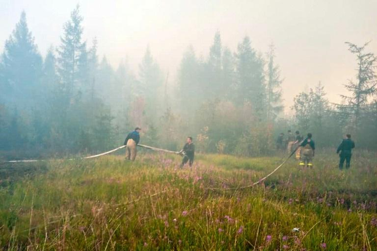 Most of the Russian wildfires are in areas deemed by responders as too difficult to suppress