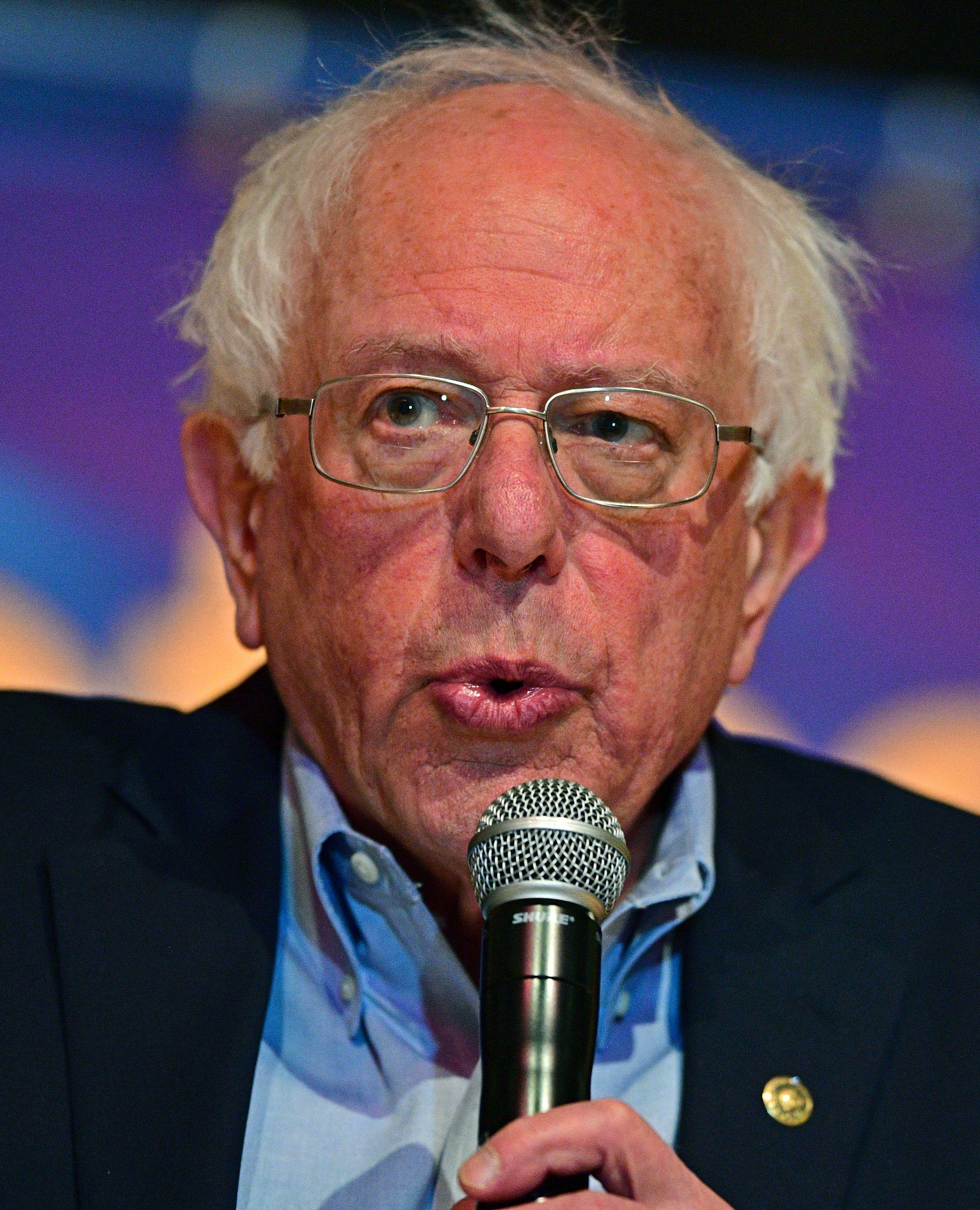 Bernie Sanders offered his stance at a CNN town hall Monday when asked whether he thought felons should be allowed to vote while they're incarcerated.