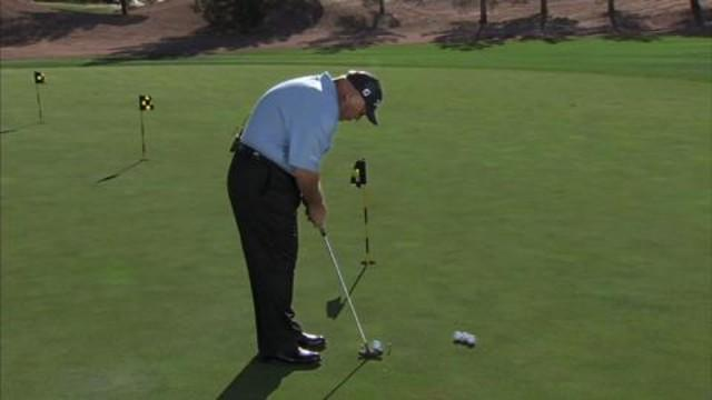 Lessons with Butch Harmon - Two Tee Putting Drill